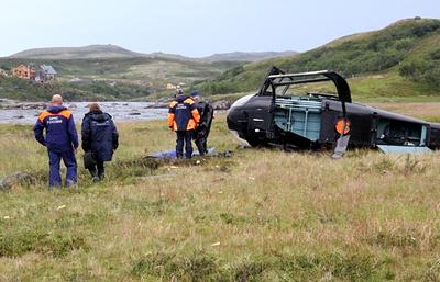 Под Хабаровском частный вертолет совершил аварийную посадку