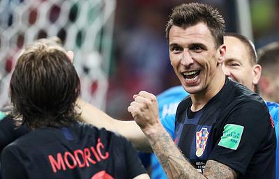 Манджукич: шансы в полуфинальном матче ЧМ между сборными Хорватии и Англии равны