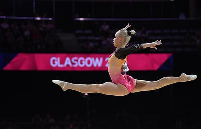 Российская гимнастка Мельникова стала второй на чемпионате Европы в опорном прыжке