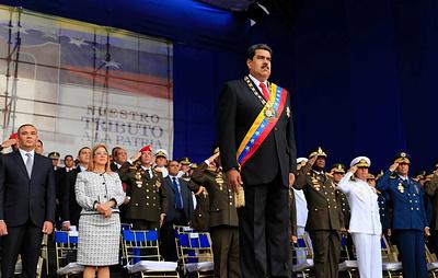 Профсоюз журналистов Венесуэлы сообщил об аресте 11 репортеров после покушения на Мадуро