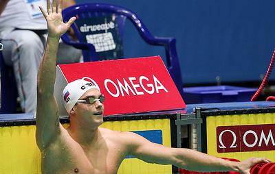 Российские пловцы завоевали серебро ЧЕ в смешанной комбинированной эстафете 4х100 м