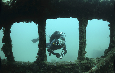 В Крыму нашли хорошо сохранившийся деревянный корабль