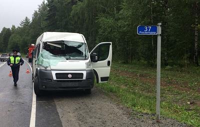 Десять человек пострадали в ДТП с маршрутным такси в Иркутской области