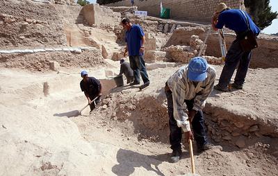 В Иерусалиме нашли ювелирное украшение возрастом более двух тысяч лет