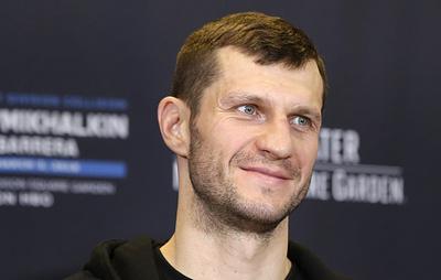 Бывший чемпион мира Михалкин 15 сентября в Германии проведет бой с Сиаки