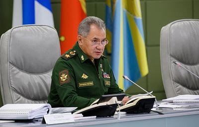 Шойгу: Каспийск станет полноценной военно-морской базой