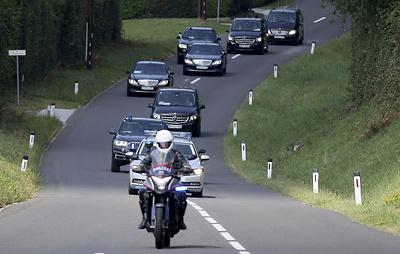 Путин прибыл в Грац
