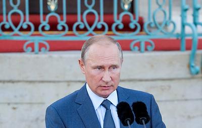 Путин: Россия готова и далее работать над урегулированием на Украине