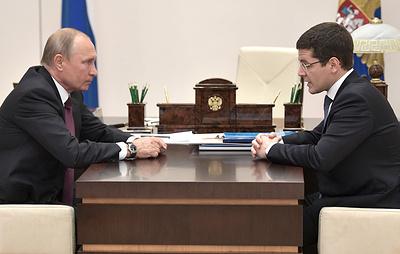 Врио главы ЯНАО доложил Путину, что строительство моста через Обь начнется этой зимой