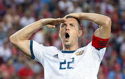 Дзюба пожаловался на духоту в победном матче с командой Турции