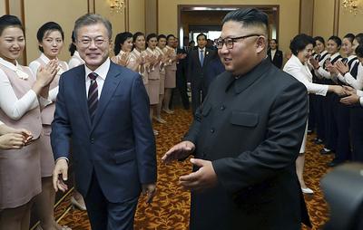 Лидеры КНДР и Южной Кореи подписали совместный документ по итогам саммита