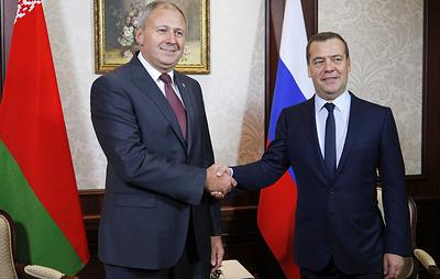Медведев заявил о готовности работать с новым премьером Белоруссии