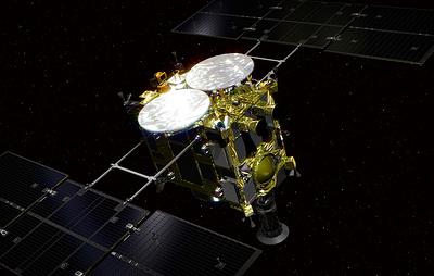 Японский зонд успешно сел на астероид Рюгу
