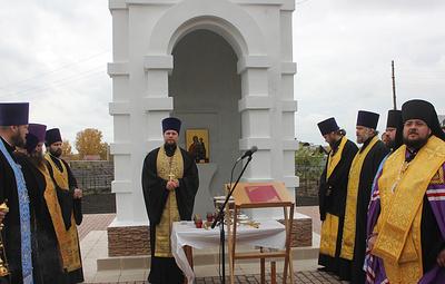 """В поселке Кузбасса возвели часовню в память о детях, погибших при пожаре """"Зимней вишне"""""""