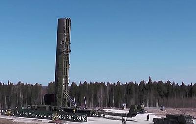 """Источник: первые летные испытания ракеты """"Сармат"""" планируется провести в начале 2019 года"""