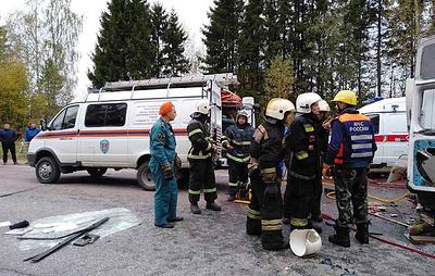В ГИБДД назвали причину аварии с автобусом и маршруткой в Тверской области