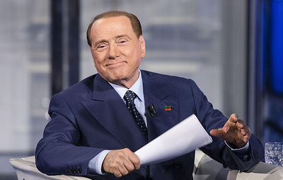 Берлускони в шутку заявил, что Черное море на самом деле синее