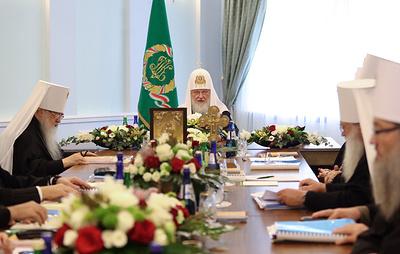 Синод РПЦ призвал поместные церкви мира вместе искать решение проблемы на Украине