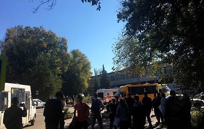 Взрыв в колледже в Керчи. Онлайн