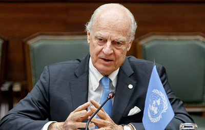 Де Мистура в конце ноября покинет пост спецпосланника генсека ООН по Сирии