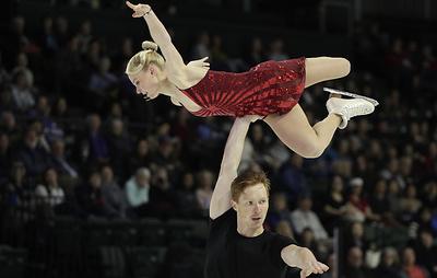 "Тарасова и Морозов лидируют после короткой программы на этапе Гран-при ""Скейт Америка"""