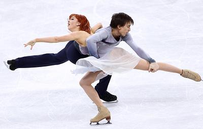 Фигуристы Загорски и Гурейро стали третьими в танцах на льду на этапе Гран-при в США
