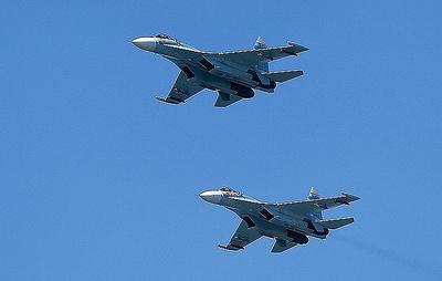 Российские истребители за неделю три раза поднимались на перехват у границ РФ