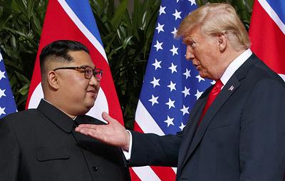 Трамп заявил, что рано или поздно пригласит в США Ким Чен Ына