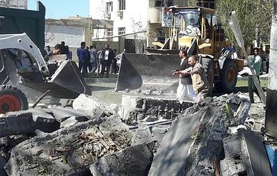 У военной базы на юго-востоке Ирана произошел взрыв