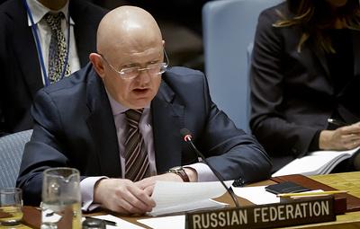 Небензя назвал пропагандистским трюком подход ОЗХО к расследованию химатак в Сирии