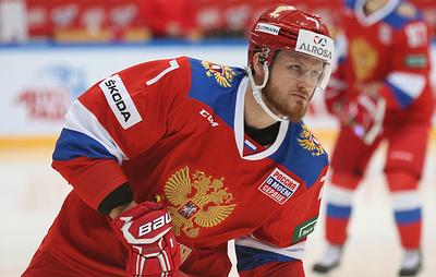Хоккеист сборной России Телегин из-за травмы не сыграет на Кубке Первого канала