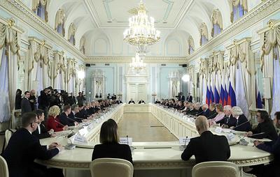 Путин проводит заседание Совета по культуре и искусству. Видеотрансляция
