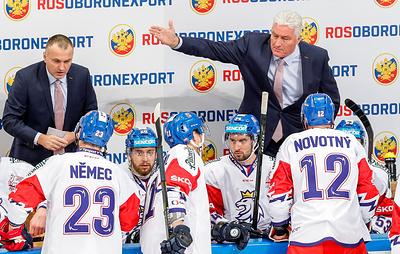 Ржига: сборная России ничем не удивила чехов в матче Кубка Первого канала по хоккею