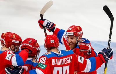 Сборная России по хоккею победила чехов, взяв реванш за поражение на Кубке Карьяла