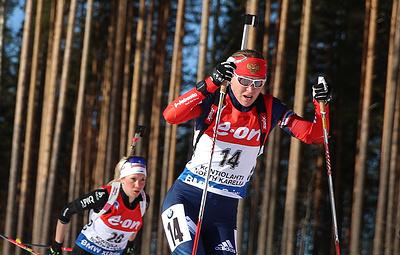 Дисквалифицированная биатлонистка Глазырина вернет медаль этапа КМ во время ЧМ-2019