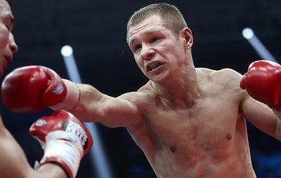 Боксер Чупраков не сумел завоевать титул чемпиона мира WBO