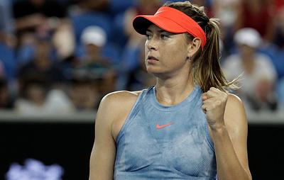 Шарапова вышла в третий круг Australian Open, где сыграет с Возняцки