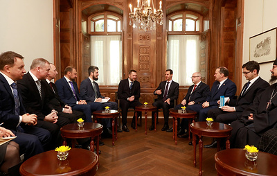 Асад на встрече с делегацией России выразил намерение посетить Крым и Севастополь