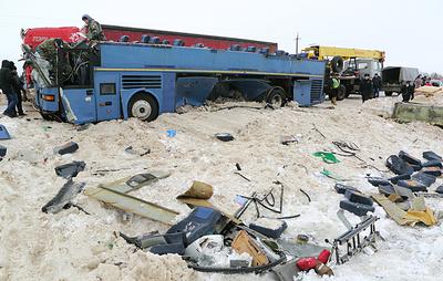Источник: водителя автобуса, попавшего в ДТП в Калужской области, задержали