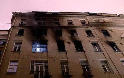 Источник: число жертв пожара на Никитском бульваре в Москве возросло до четырех