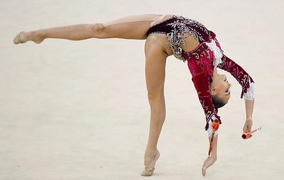 Последний день турнира в Москве удался гимнастке Арине Авериной лучше, чем субботний