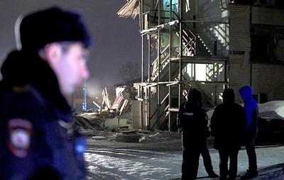 Жильцам дома в Красноярске, в котором взорвался газ, разрешили забрать вещи