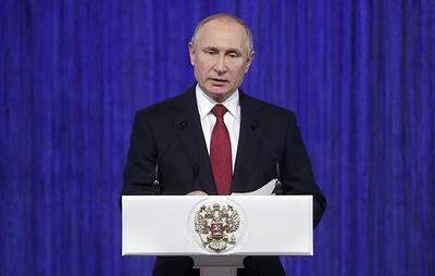 Путин считает, что аналогов современных российских вооружений в мире не появится еще долго