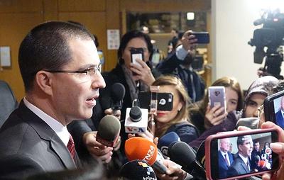 Глава МИД Венесуэлы заявил, что правительство не прикажет стрелять по собственному народу