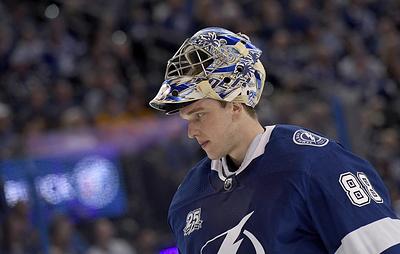Андрей Василевский признан второй звездой дня в НХЛ