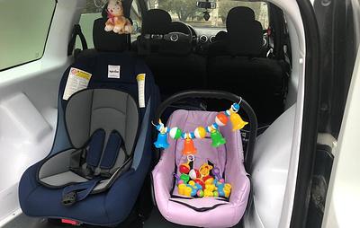 ФСИН представила спецавтомобили для женщин с малолетними детьми