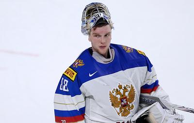 Вратарь сборной России по хоккею Василевский приступит к тренировкам через 10-12 дней