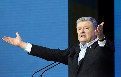 """В день """"тишины"""" на Украине Порошенко опубликовал """"компромат"""" на жену Зеленского"""