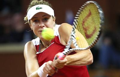 Сборная России по теннису удвоила преимущество в матче Кубка Федерации с итальянками