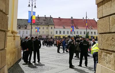 Усиленные меры безопасности введены в Сибиу на время саммита ЕС
